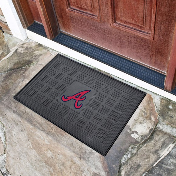 MLB - Atlanta Braves Vinyl Door Mat 19.5