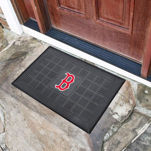 "MLB - Boston Red Sox Vinyl Door Mat 19.5"" x 31.25"""