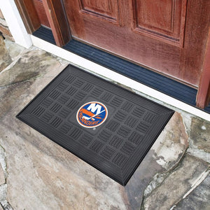 "NHL - New York Islanders Vinyl Door Mat 19.5"" x 31.25"""