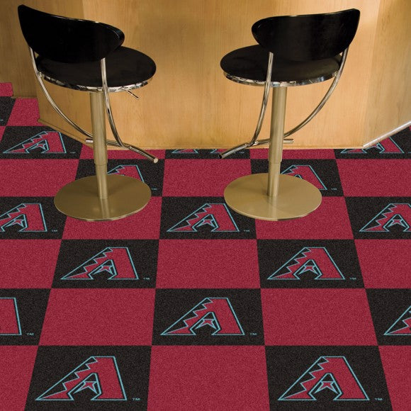 MLB - Arizona Diamondbacks Team Carpet Tiles 18