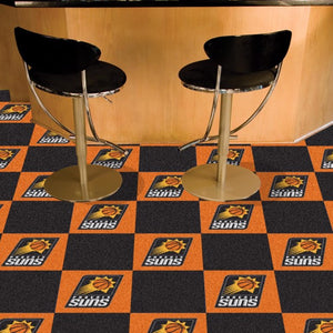 "NBA - Phoenix Suns Team Carpet Tiles 18"" x 18"""