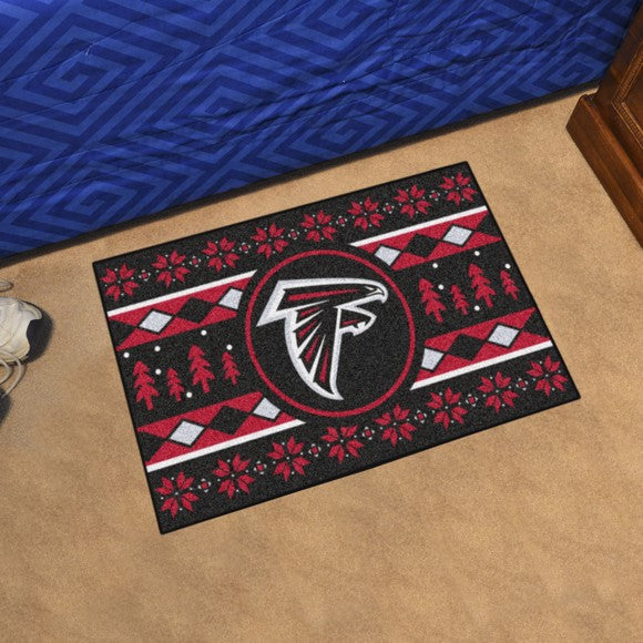 "NFL - Atlanta Falcons Starter - Holiday Sweater Starter 19"" x 30"""