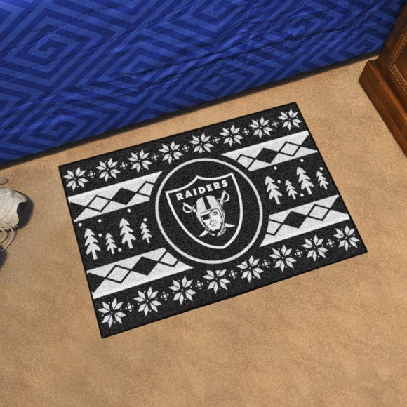 "NFL - Oakland Raiders Starter - Holiday Sweater Starter 19"" x 30"""