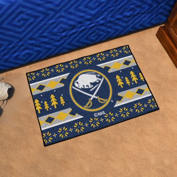 "NHL - Buffalo Sabres Starter - Holiday Sweater Starter 19"" x 30"""