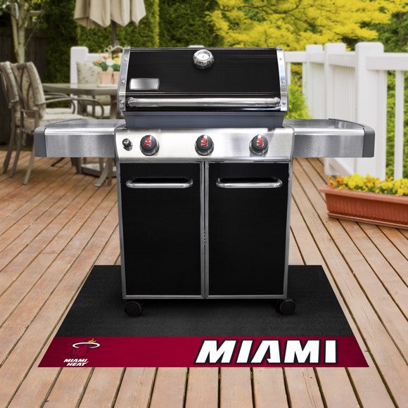 "NBA - Miami Heat Grill Mat 26"" x 42"""