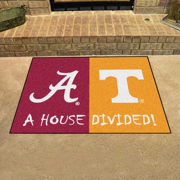 "House Divided - Alabama / Tenneessee 33.75"" x 42.5"""