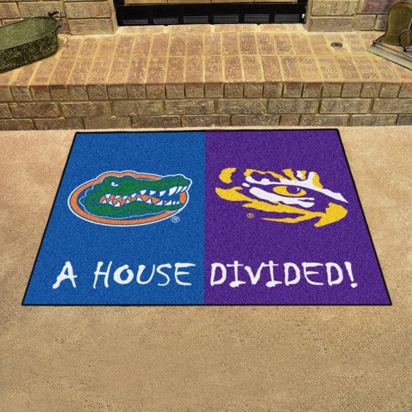 "House Divided - Florida / LSU 33.75"" x 42.5"""