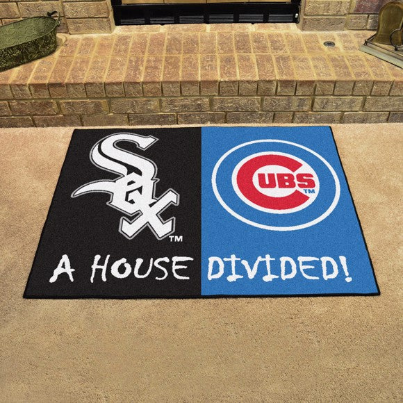 MLB House Divided - White Sox / Cubs 33.75
