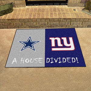 "NFL House Divided - Cowboys 33.75"" x 42.5"""