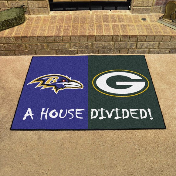 NFL House Divided - Ravens / Packers 33.75