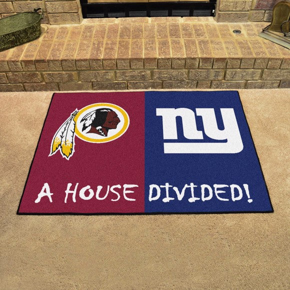 NFL House Divided - Redskins / Giants 33.75