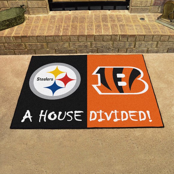 NFL House Divided - Steelers / Bengals 33.75