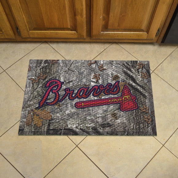 MLB - Atlanta Braves Scraper Mat 19
