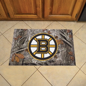 "NHL - Boston Bruins Scraper Mat 19"" x 30"""