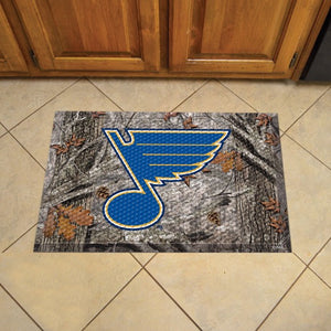 "NHL - St. Louis Blues Scraper Mat 19"" x 30"""