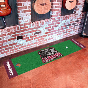 "Alabama Putting Green Mat 18"" x 72"""