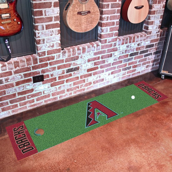MLB - Arizona Diamondbacks Putting Green Mat 18