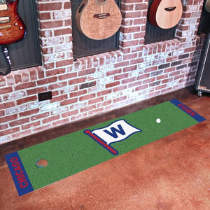 "MLB - Chicago Cubs Putting Green Mat 18"" x 72"""