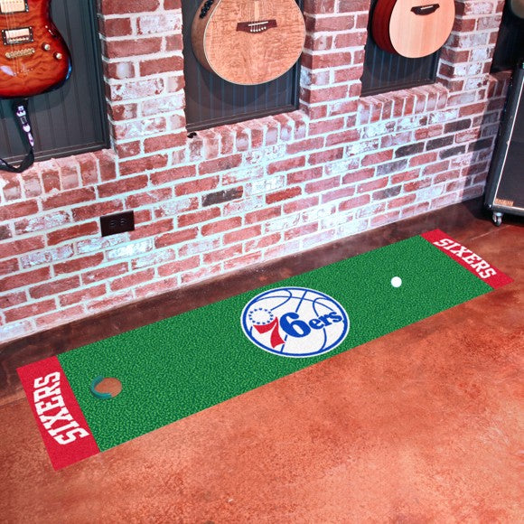 NBA - Philadelphia 76ers Putting Green Mat 18