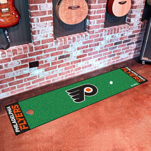 "NHL - Philadelphia Flyers Putting Green Mat 18"" x 72"""