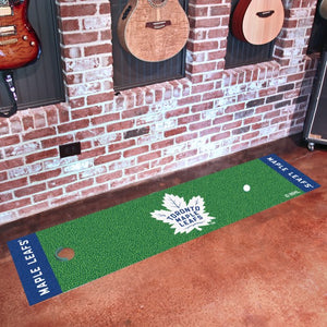 "NHL - Toronto Maple Leafs Putting Green Mat 18"" x 72"""