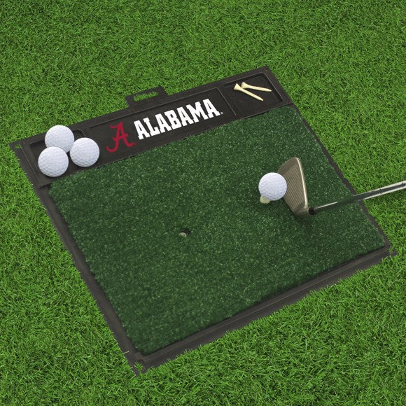 "Alabama Golf Hitting Mat 20"" x 17"""