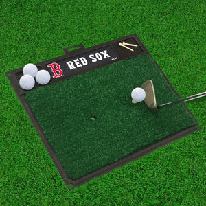 "MLB - Boston Red Sox Golf Hitting Mat 20"" x 17"""
