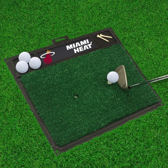 "NBA - Miami Heat Golf Hitting Mat 20"" x 17"""