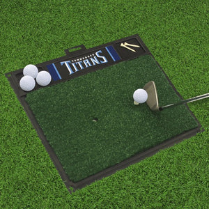 "NFL - Tennessee Titans Golf Hitting Mat 20"" x 17"""