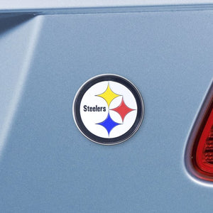 "NFL - Pittsburgh Steelers Emblem - Color 3"" x 3.2"""