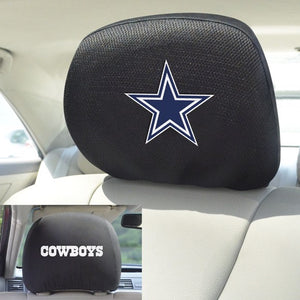 "NFL - Dallas Cowboys Headrest Cover 10"" x 13"""