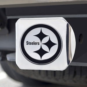 "NFL - Pittsburgh Steelers Hitch Cover 3.4"" x 4"""