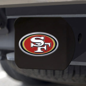 "NFL - San Francisco 49ers Hitch Cover 3.4"" x 4"""