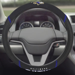 "NFL - Baltimore Ravens Steering Wheel Cover 15"" x 15"""