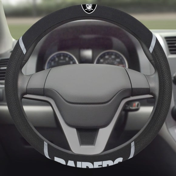 "NFL - Oakland Raiders Steering Wheel Cover 15"" x 15"""