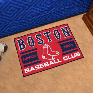 "MLB - Boston Red Sox Starter Mat 19"" x 30"""
