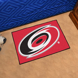 "NHL - Carolina Hurricanes Starter Mat 19"" x 30"""