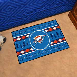 "NBA - Oklahoma City Thunder Holiday Sweater Starter 19"" x 30"""