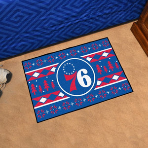 "NBA - Philadelphia 76ers Holiday Sweater Starter 19"" x 30"""