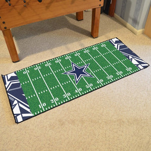 "NFL - Dallas Cowboys Football Field Runner 30"" x 72"""