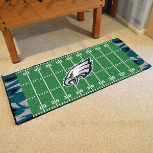 "NFL - Philadelphia Eagles Football Field Runner 30"" x 72"""