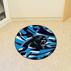 NFL - Carolina Panthers Roundel Mat 27""