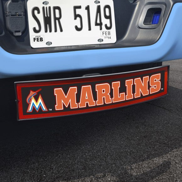 "MLB - Miami Marlins Light Up Hitch Cover 21"" x 9.5"""
