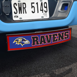 "NFL - Baltimore Ravens Light Up Hitch Cover 21"" x 9.5"""