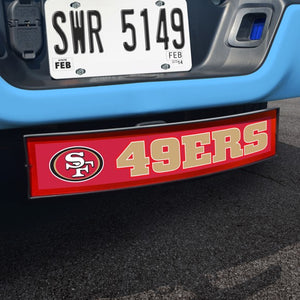 "NFL - San Francisco 49ers Light Up Hitch Cover 21"" x 9.5"""