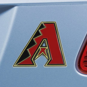 "MLB - Arizona Diamondbacks Emblem - Color 3"" x 3.2"""