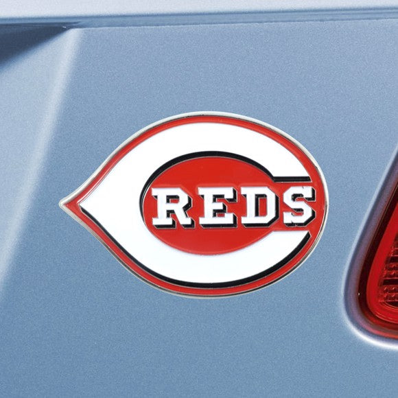 "MLB - Cincinnati Reds Emblem - Color 3"" x 3.2"""