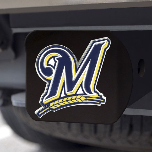 MLB - Milwaukee Brewers Hitch Cover 3.4