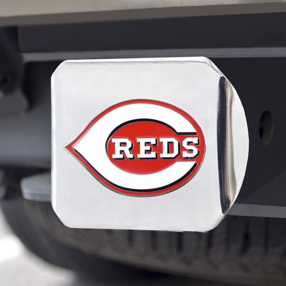 "MLB - Cincinnati Reds Hitch Cover 3.4"" x 4"""