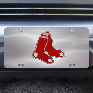 "MLB - Boston Red Sox Diecast License Plate 12"" x 6"""